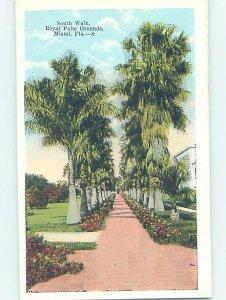 W-border ROYAL PALM GROUNDS Miami Florida FL AD4571