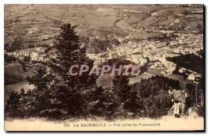 Old Postcard La Bourboule View Taking the Funicular