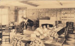 CHESTNUT HILL, Massachusetts, PU-1942; Reception room, Sanatarium of The Christi