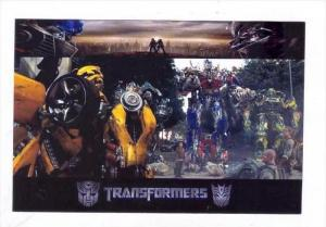 Movie Advertising postcard   TRANSFORMERS # 5