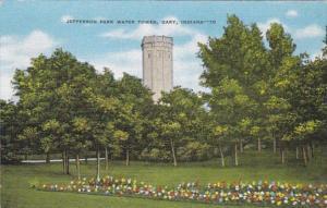 Indiana Gary Jefferson Park Water Tower
