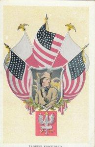 TADEUSZ KOSCIUSZKO, Polish-Lithuanian military leader allied with US, 1900-10s
