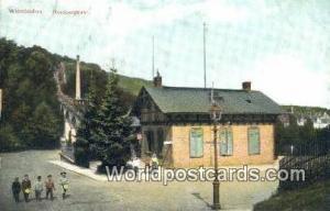 Wiesbaden Germany, Deutschland Postcard Nerobergbahn  Nerobergbahn