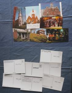 Postcards ILLINOIS Lot of 7 Churches Buildings