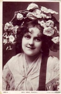 ACTRESS SINGER MISS ANNIE PURCELL 1907