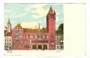 Basel , Rathaus, Switzerland , 1890s
