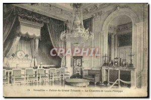 Old Postcard From Versailles Palace Grand Trianon The House of Louis Philippe