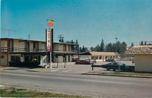 Voyager Motel, Prince George, BC, British Columbia, Canada, Chrome