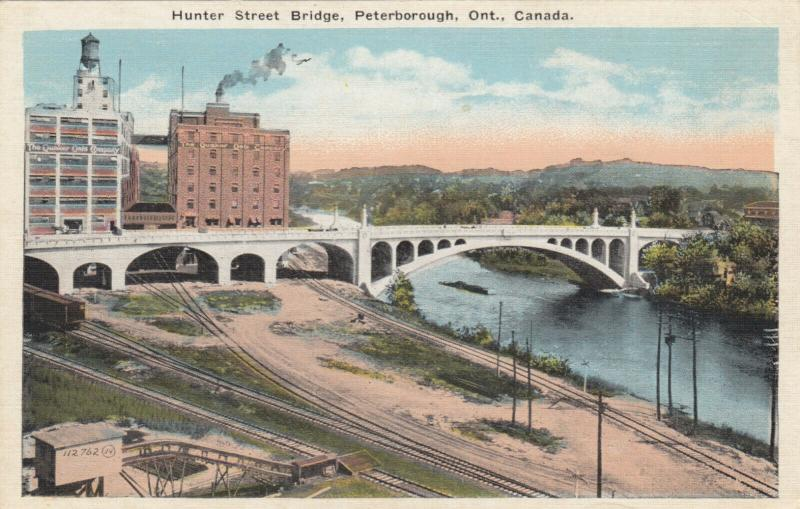 PETERBOROUGH , Ontario , 1910-30s ; Hunter Street Bridge