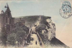 Escalier De La Falaise, LE TREPORT (Seine Maritime), France, 1900-1910s
