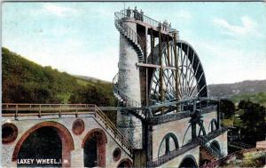 LAXEY, ISLE of MAN, UK United Kingdom    LAXEY WHEEL   1905  Postcard