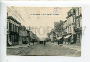 3158205 Belgium LA LOUVIERE rue de la Chaussee SIGNBOARDS OLD