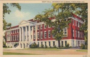 TUSCALOOSA , Alabama , 1930-40s ; Knott Hall , University of Alabama