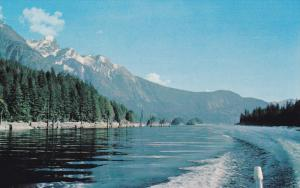 Powell Lake, POWELL RIVER, British Columbia, Canada, 40-60´s