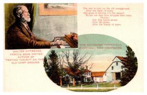 New Hampshire Merrimac , Walter Kittredge , Song, Homestead