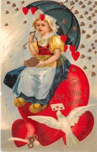 Artist Ellen Clapsaddle Valentines Day 1919
