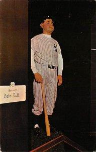 George Herman Ruth (Babe) Sultan of Swat Baseball Unused