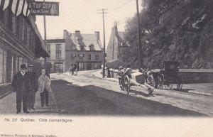 QUEBEC. Cote Lamontagne , Canada , 1900-10s