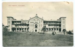 The Hospital Auckland New Zealand 1910c postcard