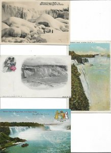 USA American Falls Niagara Falls Postcard Lot of 10  01.17