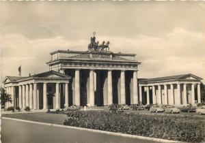 Germany Berlin Brandenburger Tor 1960