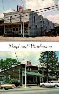 Ohio Berlin Boyd & Wurthmann Restaurant & Grocery Store