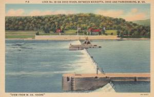 PARKERSBURG, West Virginia , 30-40s; Lock No. 18 on Ohio River