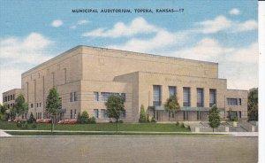 TOPEKA, Kansas, PU-1951; Municipal Auditorium