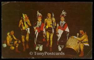 CLOWN DANCE of the Hopi Indian Tribe.