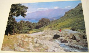 England Derwentwater and Ashness Bridge PCU-87319 J Arthur Dixon - posted 1979