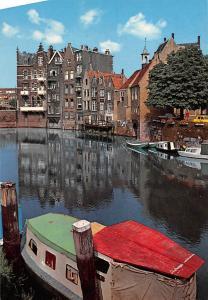 Netherlands Rotterdam Oud Delftshaven Harbour Boats