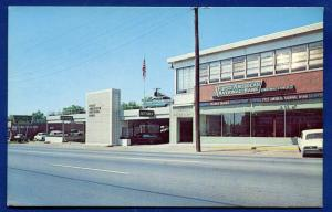 Nashville Tennessee tn First American National Bank postcard
