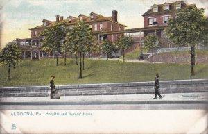 ALTOONA, Pennsylvania, 1900-1910's; Hospital And Nurses' Home, TUCK No. 5289