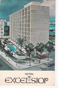 SAN JUAN, Puerto Rico, 1970 ; Hotel excelsior