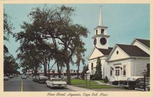 Main Street, Hyannis, First Baptist Church, Cape Cod, Massachusetts, 1940-1960s