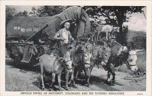 Colorado Pritchett Orville Ewing &  His Touring Menagerie