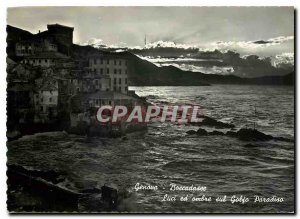 Modern Postcard Genova Boccadasse