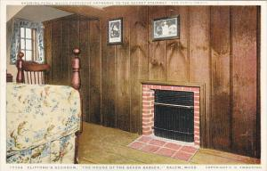 Massachusetts Salem Cliffords Bedroom The House Of Seven Gables