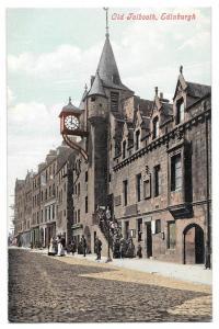 Scotland Edinburgh Canongate Tolbooth Vintage UK Postcard