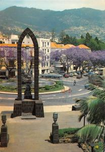 Portugal Funchal Infante Square and Arriaga Avenue Place Infante