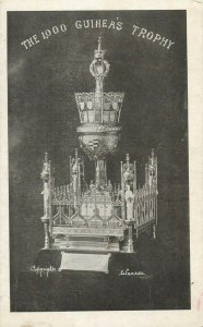 Challenge prize of the national musical union the 1000 Guinea`s trophy postcard