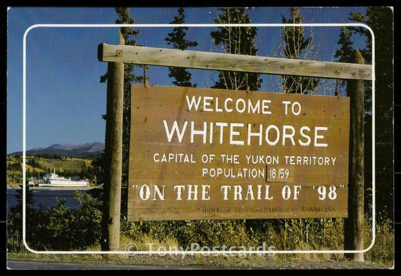 Welcome to Whitehorse
