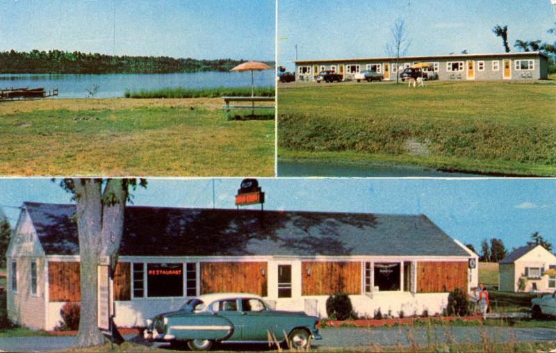 NY - Alexandria Bay. Hilltop Motel & Motor Court