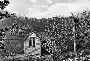 Norway Edvard Griegs komponisthytte ved Lofthus Ullensvang