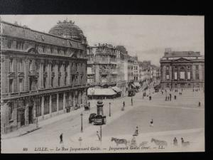 France LL.86 LILLE La Rue Jacquemard Gieles - by Levy, Paris
