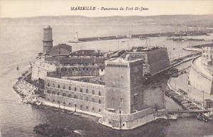 MARSEILLE, Panorama du Fort St. Jean, Provence-Alpes-Cote d'Azur, France, 00-10s