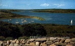 Clam Point Cove Marthas Vineyard MA 1962