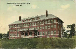 Castine, Maine, Girls Dormitory, State Normal School