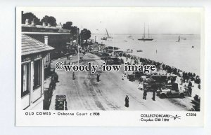 pp2016 - Busy Osbourne Court and Parade at Cowes I.O.W. c1908 - Pamlin postcard