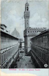 CPA FIRENZE Gli uffizi e il palazzo Vecchio . ITALY (492859)